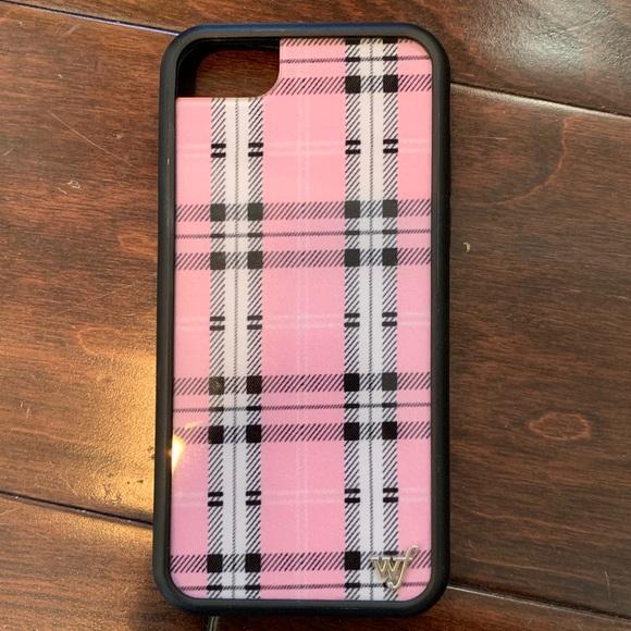Wildflower Accessories 678 Pink Plaid Iphone Case Poshmark
